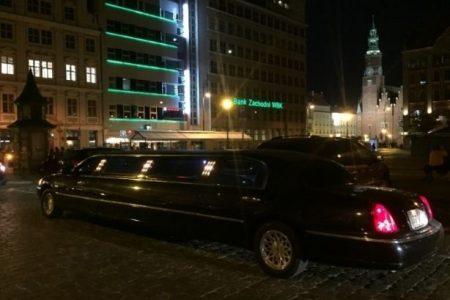 czarna limuzyna Wrocław